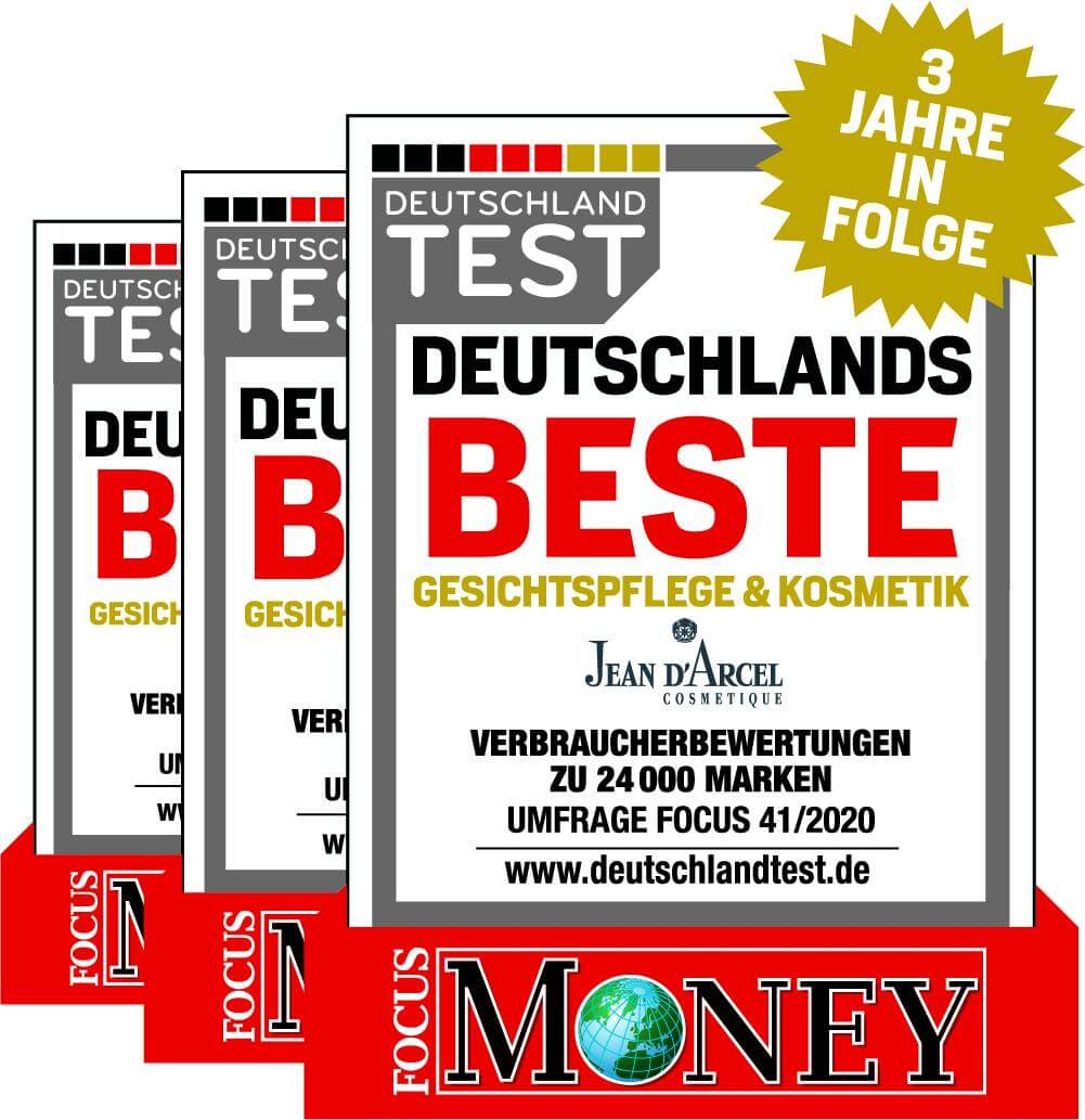 zum 3. Mal beste Kosmetik Deutschlands!